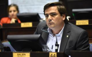 Emiliano Balbín es legislador por Cambiemos y nieto de Ricardo Balbín.