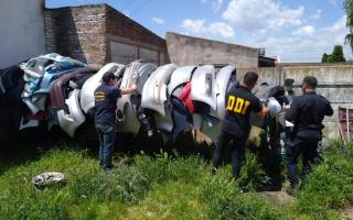 Clausuran un desarmadero y secuestran más de diez vehículos (Minuto Balcarce)