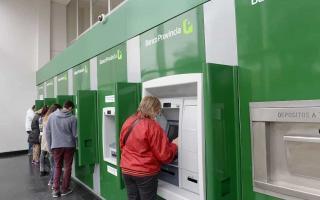 Depositarán dinero en los cajeros automáticos. Foto: Ilustrativa