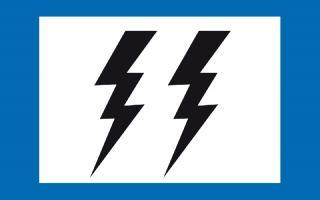Así será la bandera que izarán en los puestos de los Guardavidas.
