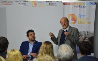 Delfino habló sobre la invitación de Bárbaro a una escuela de Cambiemos.