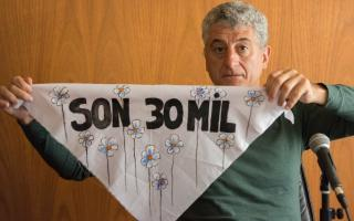 Gustavo Barrera de Villa Gesell expresó su mensajes