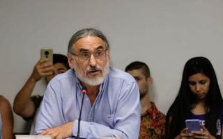 Luis Basterra expone este lunes ante la Comisión de Agricultura y Ganadería.