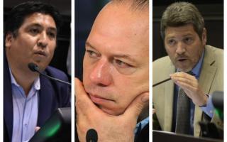 """Berni analizó el proyecto de ley que busca prohibir a los """"trapitos"""" en la Provincia. Foto: Prensa"""