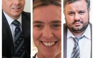 Contrapuntos entre políticos de la Cuarta Sección. Foto: Prensa