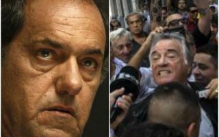 Scioli dilapidó la decisión de la justicia de intervenir el Partido Justicialista. Foto: LN1