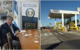 El pedido por el pase libre en el peaje de Beruti llegó a la Defensoría de la Nación. Foto: Prensa
