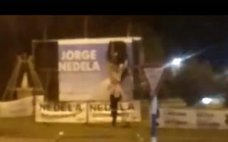 Video: Diez detenidos en Berisso acusados de romper cartelería de candidato