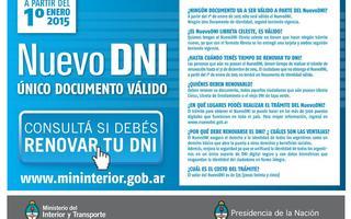 Qui nes deben renovar su dni antes del 2015 - Ministerio del interior renovar dni ...