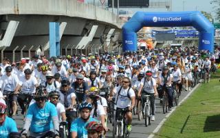 Bicicleteada familiar del Banco Ciudad se reprogramó para el 29 de septiembre