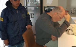 Detuvieron al exfiscal Tomás Morán. Foto: Clarín