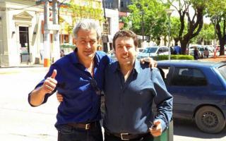 Cutzarida y Blanco se mostraron juntos. Foto: EscobarNews