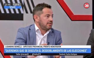 Lisandro Bonelli cuestionó el Presupuesto 2019.