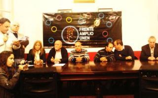 Lanzaron el FAU en Tigre. Foto: Twitter @silvia_saravia