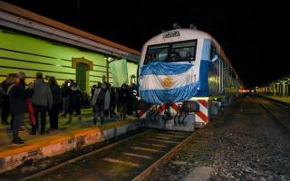 Vuelta del tren a Bragado: La venta de pasajes se agotó