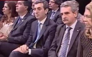 Tensión entre los ministros: Foto: Captura de pantalla TV Pública.