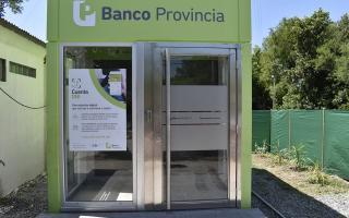 San Vicente: Domselaar tendrá por primera vez cajeros automáticos