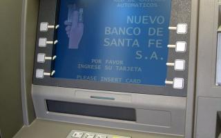 RSE: Los cajeros automáticos para no videntes del Nuevo Banco de Santa Fe poseen un sistema de guía táctil de convención mundial