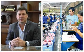 El Intendente Canosa se mostró preocupado por los despidos en la fábrica de calzados Coopershoes.