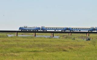 Las pruebas del tren se llevaron a cabo el pasado 6 de marzo. Foto: Twitter @RandazzoF