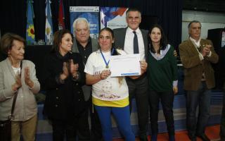 Castagneto y Carasatorre en Lomas de Zamora. Foto: Prensa Ministerio de Desarrollo Social.