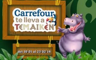 Desde el 11 de enero al 23 de febrero, con una compra superior a $250, Carrefour te regala una entrada a Temaiquén
