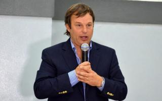 El intendente reelecto de Almirante Brown se reunio con Santiago Cafiero