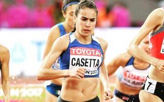 Casetta, récord sudamericano en el Mundial de Londres.