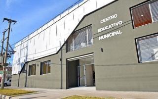 El lugar que se eligió el Centro Educativo Municipal.