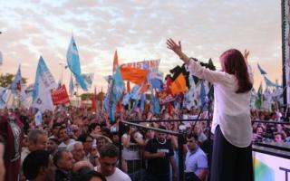 """Cristina presentó """"Unidad ciudadana"""""""