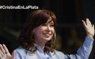"Cristina presenta ""Sinceramente"" en La Plata"