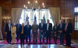 Los legisladores visitaron Chile.