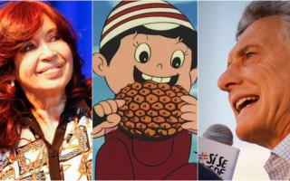 Cristina Kirchner, Chispita y Macri.