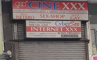 El hecho ocurrió en el cine Pigalle de Mar del Plata.