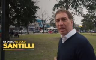 Primer Spot de campaña de Santilli