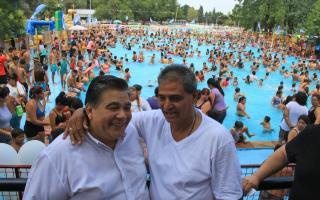 Ishii inauguró en José C. Paz una nueva temporada de la colonia municipal