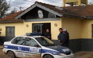 La comisaría de Alberti vivió 7 horas de tensión.