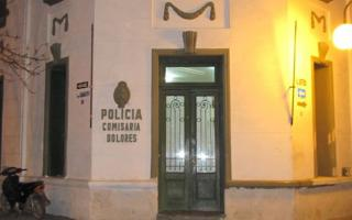 Los aprehendidos fueron trasladados a la Comisaría de Dolores.