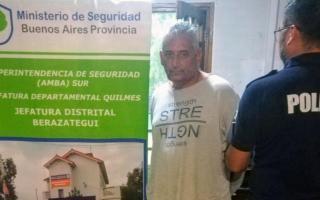 Daniel Zisuela fue detenido en Florencio Varela.