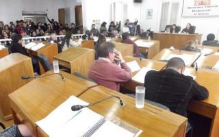 Sesión especial en el HCD de Moreno.