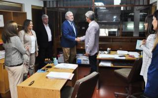El Procurador Conte Grand visitó Ramallo, Arrecifes y Capitán Sarmiento