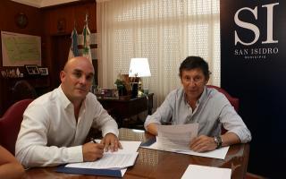 San Isidro y Nación firmaron convenio para agilizar trámites de habilitaciones comerciales