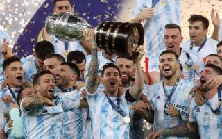 Argentina ganó 1 a 0