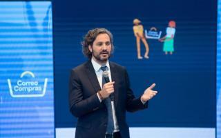 Correo Compras: El Jefe de Gabinete Santiago Cafiero encabezó presentación de la plataforma