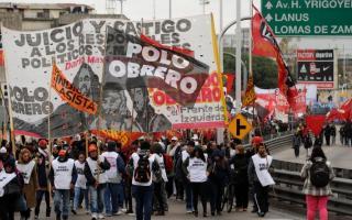 La izquierda anunció jornada de cortes y marchas