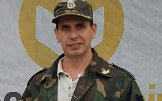 El Subcomisario Gustavo José Carballo. (Noticias Mercedinas)