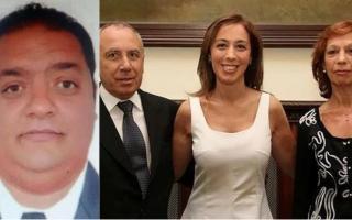 El efectivo custodiaba a los padres de Vidal. Foto: Infobae
