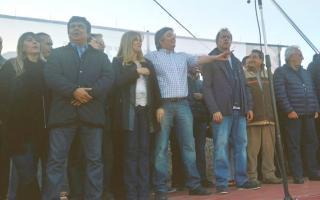 El escenario fue Villa Palito en La Matanza. Foto: @larroqueandres