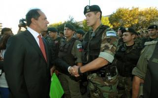 El 5 de marzo Scioli se reunirá con autoridades nacionales coordinar el retiro de efectivos de Gendarmería en el Conurbano bonaerense.
