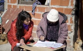 El censo relevará a más de 13.800 viviendas de la Provincia. Foto: Ministerio de Economía de la Provincia.